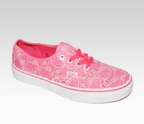Tenis Hello Kitty  - Vans y Hello Kitty