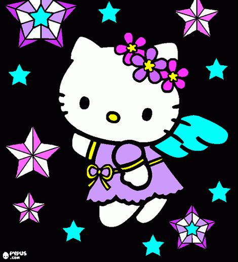 Ángel Hello Kitty