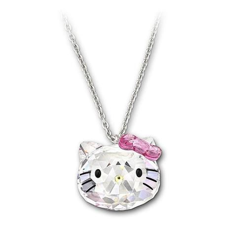 Collar Hello Kitty de Swarovski  - Hello Kitty y Swarovski