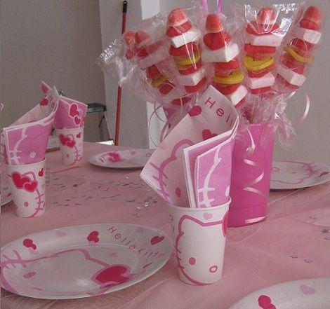 fiesta cumpleanos kitty mesa