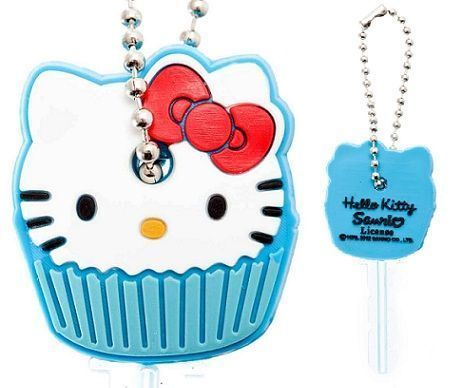 fundas llaves hello kitty cara cupcake