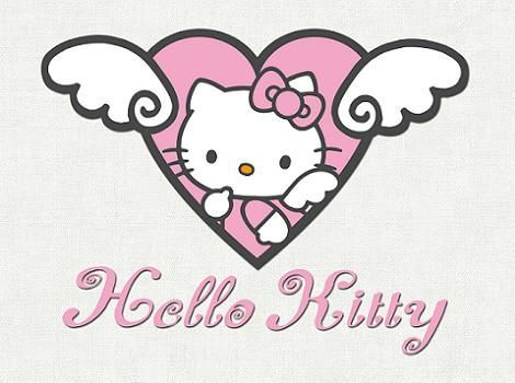 Hello Kitty ángel rosa