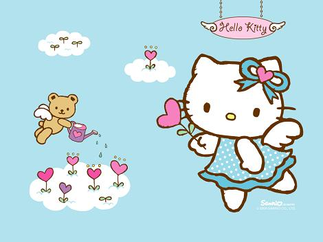 Hello Kitty cielo