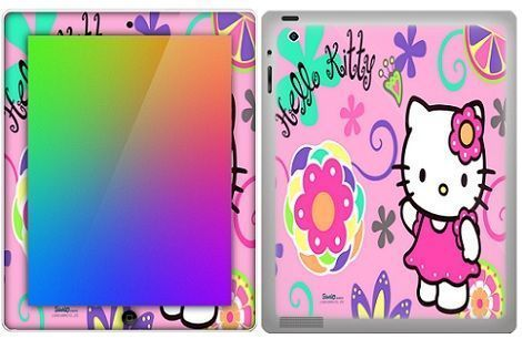 hello kitty fundas ipad flores