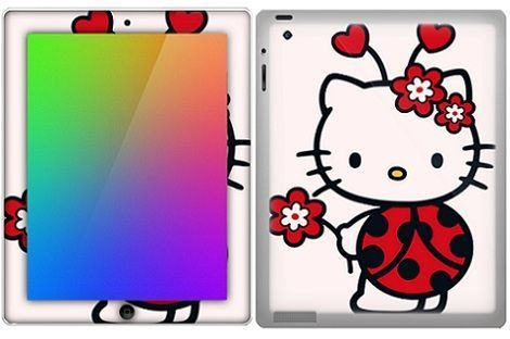 hello kitty fundas ipad mariquita
