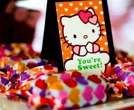 ideas fiesta hello kitty dulces