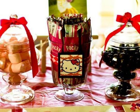 ideas fiesta hello kitty tarros