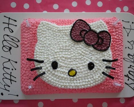 ideas fiesta hello kitty tarta