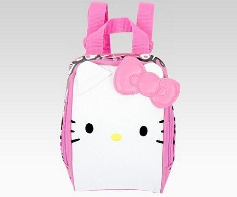 mochilas hello kitty lazo