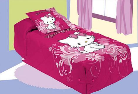 Ropa de cama hello Kitty  - Edredones de Hello Kitty