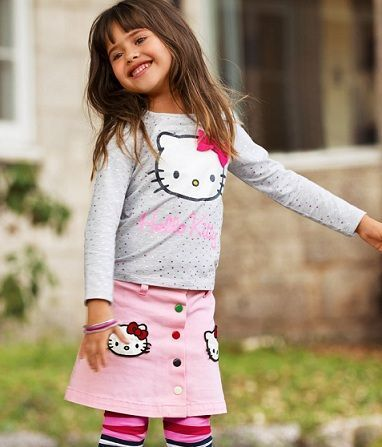ropa hello kitty hm conjunto