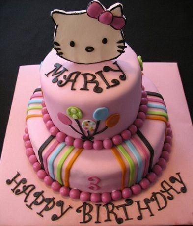 tartas kitty colores
