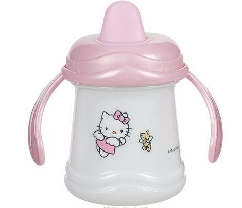 vajilla bebe hello kitty vaso