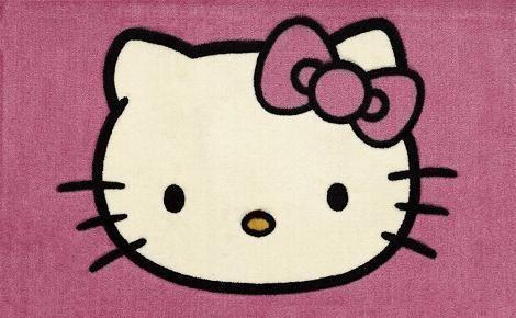 Alfombra Hello Kitty