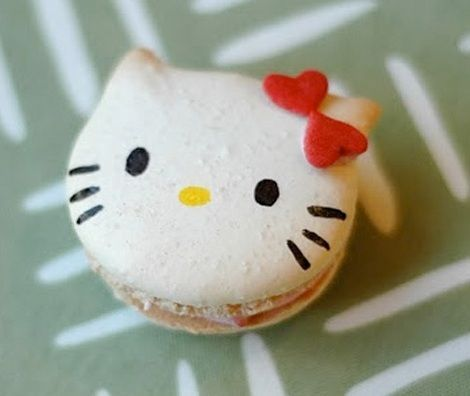 dulces hello kitty macaroon
