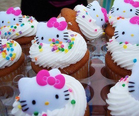 fotos hello kitty originales cupcakes