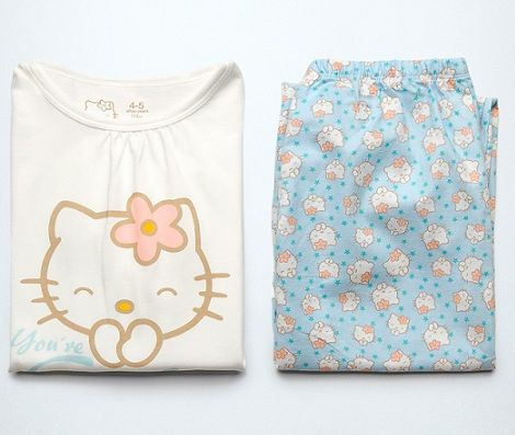 pijama hello kitty zara