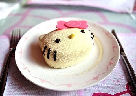 torta hello kitty mini  - Torta de Hello Kitty