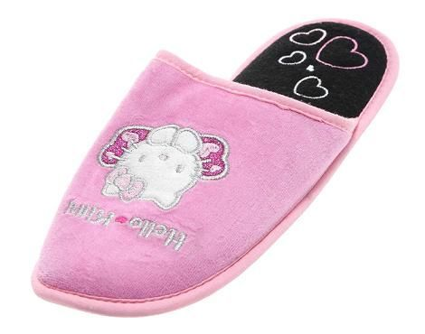 Zapatillas rosa de Hello Kitty