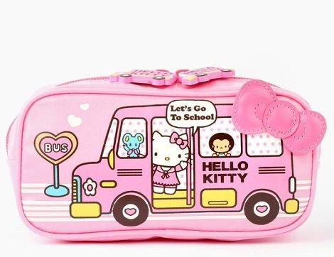 funda de Kitty rosa con lazo  - Prepara la vuelta al cole con Hello Kitty