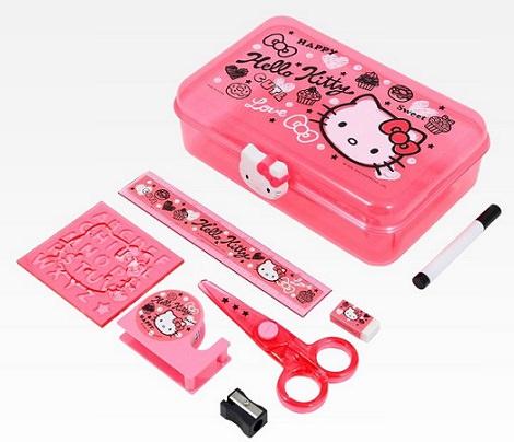 instrumentos de kitty para el cole  - Prepara la vuelta al cole con Hello Kitty