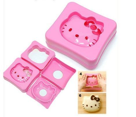 molde de Hello Kitty para sandwiches