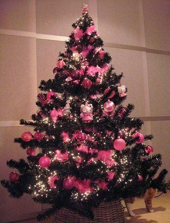 arbol de navidad de hello kitty