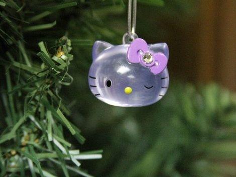 decoracion navidad hello kitty