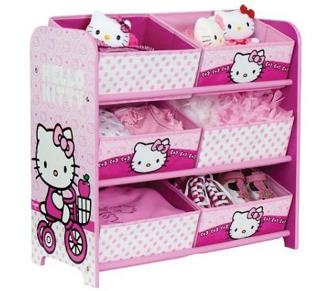 Mueble organizador de Hello Kitty