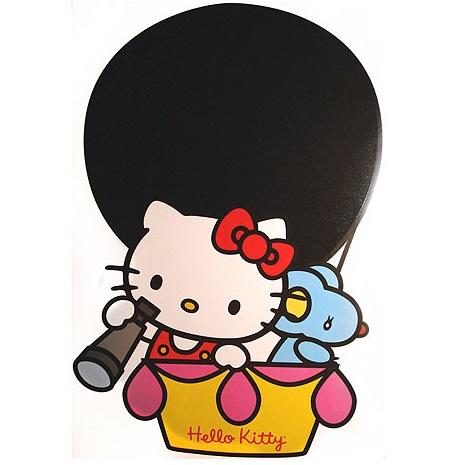 sticker de hello kitty en globo de leroy merlin  - Vinilos decorativos de Hello Kitty de Leroy Merlín