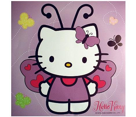 pegatina de hello kitty de leroy merlin