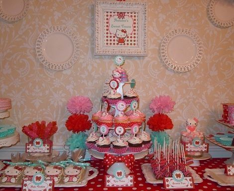 7 ideas para tu cumplea os de hello kitty - Cortinas de hello kitty ...