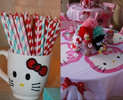 7 ideas para tu cumpleanos de hello kitty
