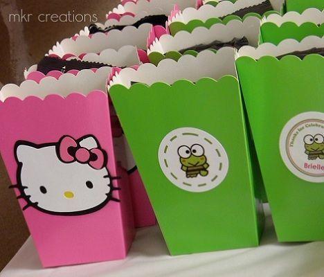 fiesta de hello kitty y keroppi  - Fiesta de Hello Kitty y Keroppi