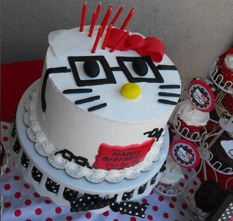 ideas para una fiesta de cumpleanos de hello kitty