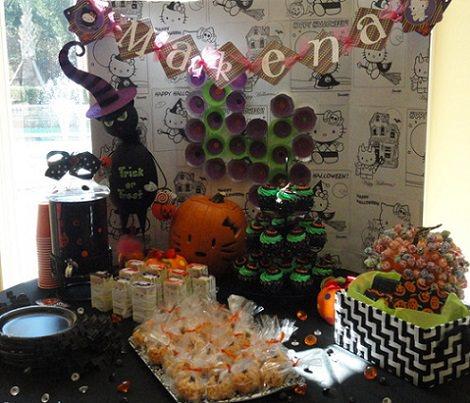 habitación hello kitty de sanrio  - Celebra una fiesta de Hello Kitty en Halloween