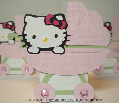 ideas para un baby shower de hello kitty  - Ideas para un baby shower de Hello Kitty
