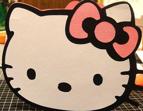 tarjetas de cumpleaños de Hello Kitty caseras  - Tarjetas de cumpleaños de Hello Kitty caseras