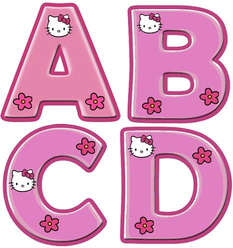 letras para imprimir infantiles