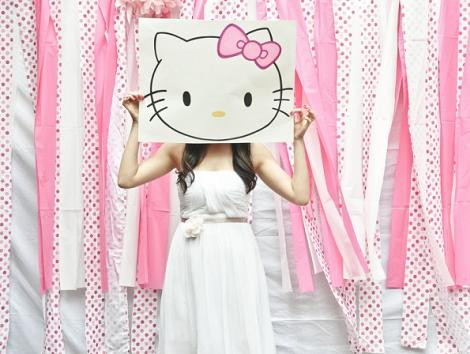 Photocall Hello Kitty