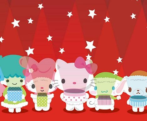 Fondos de pantalla de Hello Kitty para la Navidad 2013 2014