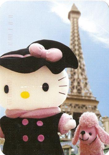 Foto Hello Kitty en París  - Hello Kitty en Paris