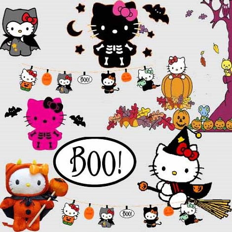 fotos de hello kitty de halloween disfraces  - Fotos de Halloween de Hello Kitty