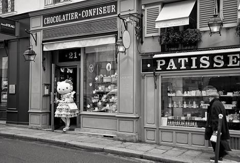 Hello Kitty en Francia  - Hello Kitty en Paris