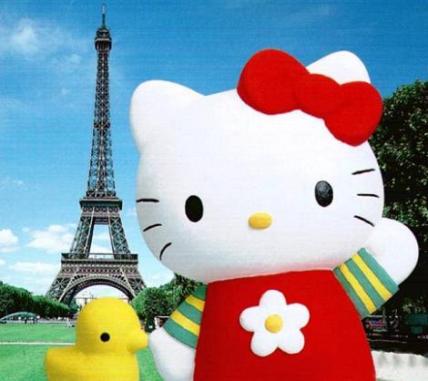 Hello Kitty en París  - Hello Kitty en Paris