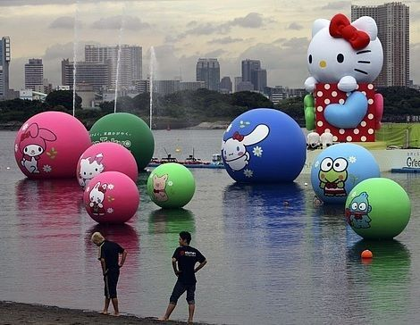 imagenes de hello kitty divertidas