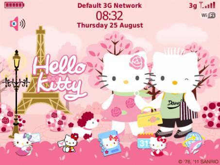 Kitty en París  - Hello Kitty en Paris