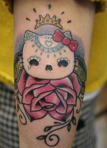 Fotos de tatuajes de Hello Kitty originales
