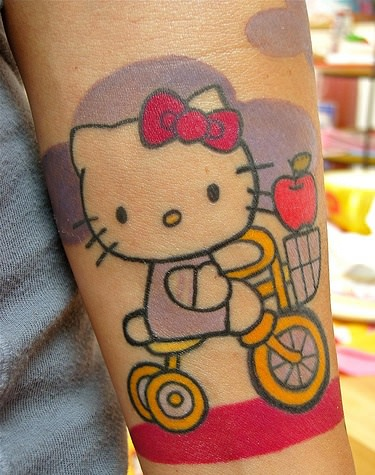 tatuajes de hello kitty