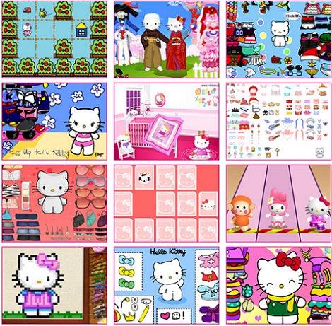 juegos online de Hello Kitty